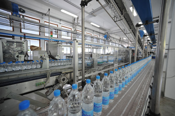 Equipment for Water Bottling Operations