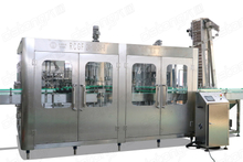 4-in-1 glass bottle juice filling machine production line